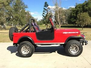 1978 Jeep CJ7 Renegade (4x4) Red 3 Speed Automatic 4x4 Hardtop Salisbury Brisbane South West Preview