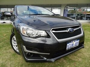 2015 Subaru Impreza  Grey Constant Variable Sedan Victoria Park Victoria Park Area Preview