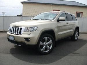 2012 Jeep Grand Cherokee WK MY2012 Overland Gold 5 Speed Sports Automatic Wagon Devonport Devonport Area Preview