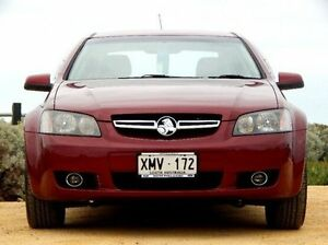 2007 Holden Berlina VE Red 4 Speed Automatic Sedan Christies Beach Morphett Vale Area Preview
