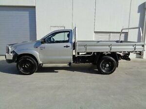 2012 Toyota Hilux Silver Manual Cab Chassis Traralgon Latrobe Valley Preview