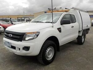 2012 Ford Ranger White Sports Automatic Cab Chassis Pakenham Cardinia Area Preview