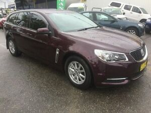 2015 Holden Commodore VF MY15 Evoke Sportwagon Burgundy 6 Speed Sports Automatic Wagon Wodonga Wodonga Area Preview
