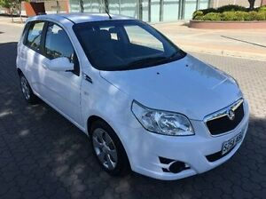 2008 Holden Barina TK MY08 White 5 Speed Manual Hatchback Wayville Unley Area Preview