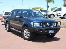 2012 Nissan Navara D40 S6 MY12 ST Blue 5 Speed Sports Automatic Utility Spearwood Cockburn Area Preview