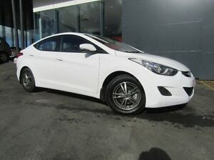 2012 Hyundai Elantra MD Active White 6 Speed Sports Automatic Sedan Earlville Cairns City Preview