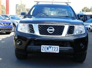 2012 Nissan Navara D40 MY12 ST (4x2) Black 5 Speed Automatic Dual Cab Pick-up Ringwood East Maroondah Area Preview