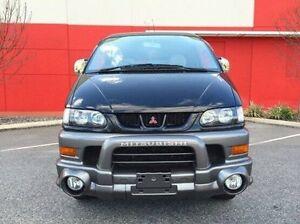2001 Mitsubishi Delica Black Automatic Van Cannington Canning Area Preview