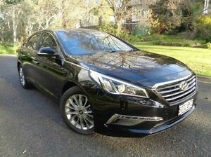 2015 Hyundai Sonata LF Elite Black 6 Speed Sports Automatic Sedan St Marys Mitcham Area Preview