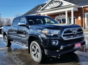 2016 Toyota Tacoma Limited 4x4, Blind Spot, Leather Heated Seats