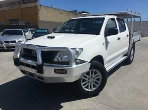 2009 Toyota Hilux KUN26R MY10 SR White 5 Speed Manual Utility Dandenong Greater Dandenong Preview