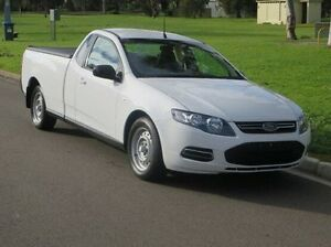 2012 Ford Falcon FG MkII EcoLPi Ute Super Cab White 6 Speed Automatic Utility Christies Beach Morphett Vale Area Preview