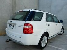 2008 Ford Territory SY Ghia AWD White 6 Speed Sports Automatic Wagon Braeside Kingston Area Preview