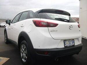 2015 Mazda CX-3 DK2W7A Neo SKYACTIV-Drive White 6 Speed Sports Automatic Wagon Devonport Devonport Area Preview