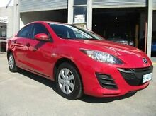 2010 Mazda 3 BL10F1 MY10 Neo Activematic Red 5 Speed Sports Automatic Sedan Invermay Launceston Area Preview
