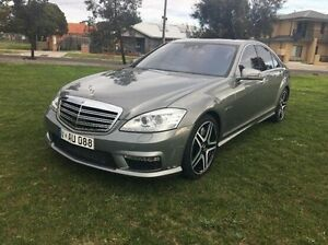 2011 Mercedes-Benz S63 W221 MY11 AMG SPEEDSHIFT MCT Grey 7 Speed Sports Automatic Sedan Maidstone Maribyrnong Area Preview