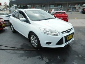 2012 Ford Focus LW MKII Ambiente PwrShift Red 6 Speed Sports Automatic Dual Clutch Sedan Pennant Hills Hornsby Area Preview