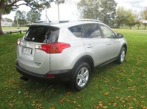2013 Toyota RAV4 ALA49R GXL AWD Silver 6 Speed Sports Automatic Wagon East Kempsey Kempsey Area Preview