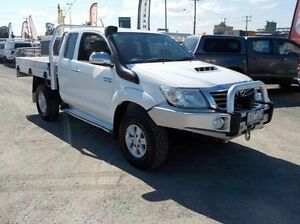2012 Toyota Hilux White Manual Utility Pakenham Cardinia Area Preview