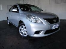 2013 Nissan Almera N17 ST Silver 4 Speed Automatic Sedan Derwent Park Glenorchy Area Preview
