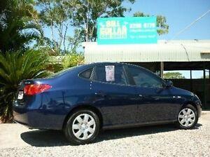 2007 Hyundai Elantra HD SX Blue 4 Speed Automatic Sedan Deagon Brisbane North East Preview
