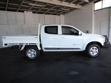 2012 Holden Colorado RG MY13 LX Crew Cab White 5 Speed Manual Utility Derwent Park Glenorchy Area Preview