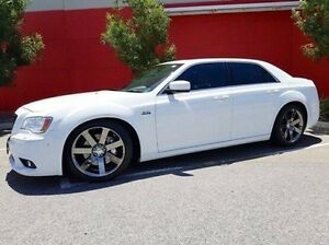 2012 Chrysler 300 LX MY13 SRT-8 White 5 Speed Sports Automatic Sedan Cannington Canning Area Preview