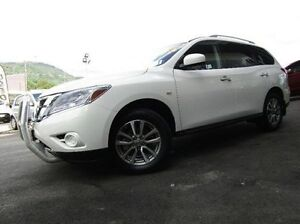 2014 Nissan Pathfinder R52 MY14 ST X-tronic 2WD White 1 Speed Constant Variable Wagon Earlville Cairns City Preview