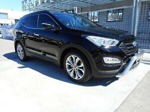2013 Hyundai Santa Fe DM MY13 Highlander Black 6 Speed Sports Automatic Wagon Pennant Hills Hornsby Area Preview