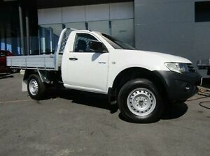 2011 Mitsubishi Triton White Manual Cab Chassis Earlville Cairns City Preview