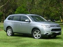 2013 Mitsubishi Outlander ZJ MY13 ES 4WD Silver 6 Speed Constant Variable Wagon West Ballina Ballina Area Preview