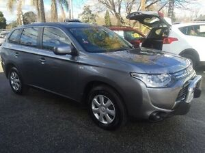 2013 Mitsubishi Outlander ZH MY12 LS Limited Edition Grey 6 Speed Constant Variable Wagon Wodonga Wodonga Area Preview