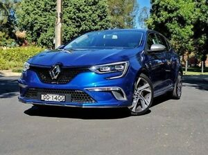 2016 Renault Megane BFB GT EDC Blue 7 Speed Sports Automatic Dual Clutch Hatchback Medindie Gardens Prospect Area Preview