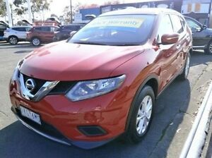 2016 Nissan X-Trail T32 ST X-tronic 4WD Red 7 Speed Constant Variable Wagon Blackburn Whitehorse Area Preview