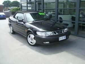 1999 Saab 9-3 SE Black 4 Speed Automatic Convertible Invermay Launceston Area Preview