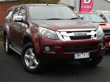 2013 Isuzu D-MAX MY12 LS Crew Cab High Ride Red 5 Speed Sports Automatic Utility Mitchell Park Ballarat City Preview