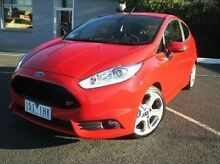 2014 Ford Fiesta WZ Red 6 Speed Manual Hatchback Coburg North Moreland Area Preview