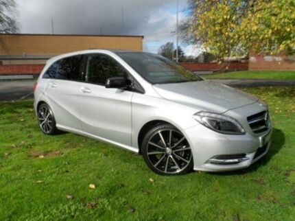2013 Mercedes-Benz B200 W246 BlueEFFICIENCY DCT Silver 7 Speed Sports Automatic Dual Clutch Hatchbac Bakery Hill Ballarat City Preview