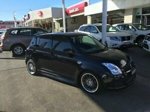 2008 Suzuki Swift Black Manual Hatchback East Kempsey Kempsey Area Preview