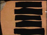 Girls Trousers Mix Set Of 5 Yrs12/13