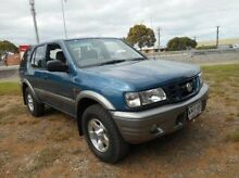 2000 Holden Frontera MX (4x4) Blue 5 Speed Manual Wagon Mile End South West Torrens Area Preview