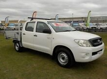 2008 Toyota Hilux GGN15R MY09 SR White 5 Speed Automatic Utility Pakenham Cardinia Area Preview