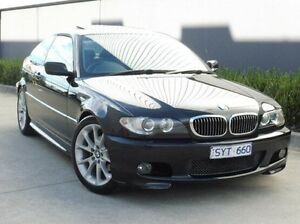 2003 BMW 325CI E46 MY2003 Steptronic Black 5 Speed Sports Automatic Coupe South Melbourne Port Phillip Preview