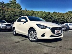 2016 Mazda 2 DL2SAA Maxx SKYACTIV-Drive White 6 Speed Sports Automatic Sedan West Mackay Mackay City Preview