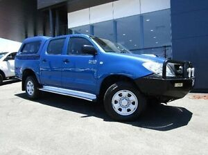 2012 Toyota Hilux KUN26R MY12 SR5 Double Cab Blue 4 Speed Automatic Utility Earlville Cairns City Preview