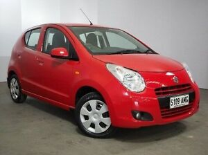 2010 Suzuki Alto GF GL Red 5 Speed Manual Hatchback Mount Gambier Grant Area Preview