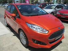 2015 Ford Fiesta WZ MY15 Red 6 Speed Sports Automatic Dual Clutch Hatchback Baulkham Hills The Hills District Preview