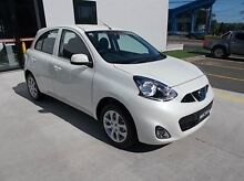 2015 Nissan Micra K13 Series 4 MY15 TI White 4 Speed Automatic Hatchback Burwood Whitehorse Area Preview