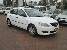 2005 Mazda 3 BK10F1 Neo White 4 Speed Sports Automatic Hatchback Baulkham Hills The Hills District Preview