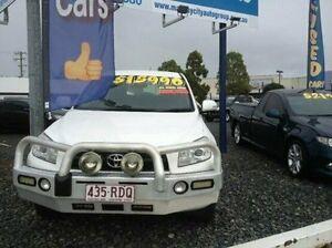 2010 Toyota RAV4 ACA33R MY09 CV White 4 Speed Automatic Wagon Mount Pleasant Mackay City Preview